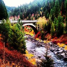 Bridge to McCall, Idaho. Beautiful Places To Visit, Places To See, Moving To Idaho, Mccall Idaho, Rivers And Roads, Us Destinations, Boise Idaho, Adventure Is Out There, Wyoming