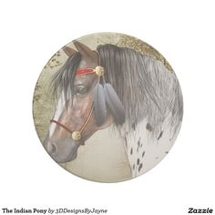 The Indian Pony Sandstone Coaster