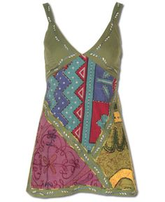How did I not see this when I was shopping the other day! I LOVE IT! SoulFlower-NEW! Harmonica Halter Tank $34