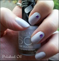 . 60 Seconds, Rimmel London, Just Me, Nail Polish, Mary Mary, Nails, Beauty, Different Color Nails, Finger Nails