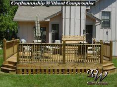 Treated Decks by DW Elite Decks in Olathe, Kansas  Call today at: 913-782-7575  email us at: dw@dwdecks.com