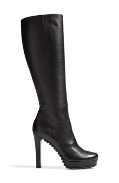 Gucci 'Anouk' Lug Sole Boot for Women at Nordstrom I Love My Shoes, Only Shoes, Me Too Shoes, Sexy Heels, Black Heels, High Heels, Heeled Boots, Bootie Boots, Shoe Boots