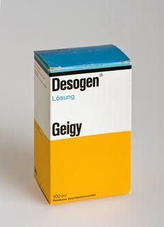 Switzerland Geigy Max Schmid Packaging