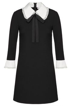 Red Valentino Damen Kleid mit Spitze Schwarz | SAILERstyle Valentino Garavani, Red Valentino, Trends, Blouse, Long Sleeve, Sleeves, Outfits, Tops, Women