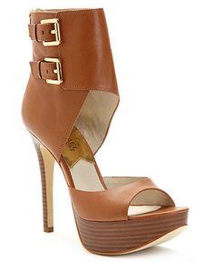 MICHAEL Michael Kors Shoes, Becca Platform Shooties - Shoes - Sale - Macy's