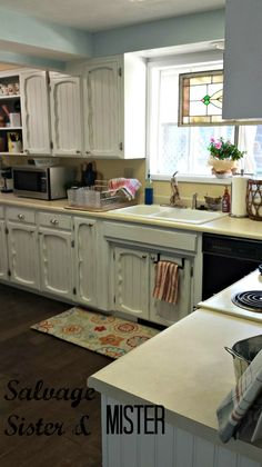 Did you know the average minor remodel is $18,500? Come see how we remodeled our kitchen on a budget! You don't have to spend a lot to see BIG results.