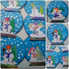 Hiver - lesptitsbricoleurss jimdo page! Hiver - lesptitsbricoleurss jimdo page! Winter Art Projects, Winter Project, Winter Crafts For Kids, Winter Kids, Art For Kids, Snowman Crafts, Diy Crafts To Sell, Holiday Crafts, Winter Activities