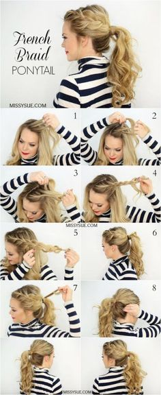 New-Side-French-Braid-Ponytail: