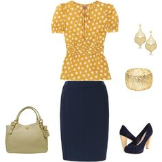 Spring Work Outfit, created by debi-schmidt-muchow on Polyvore