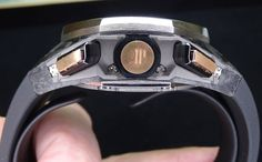 #AudemarsPiguet Royal Oak Concept Laptimer Michael Schumacher botonera