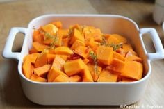 butternut rotie au four Home Economics, Pumpkin Recipes, Sweet Potato, Lunch, Vegetables, Eat, Cooking, Branches, Food