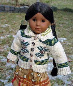 Miniature Cowichan Cardigan