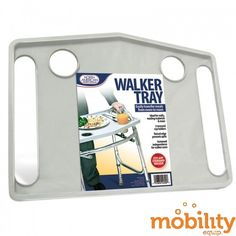 "Jobar International - JB4790 - Walker Tray, Gray, 20-3/4"" x 15-3/4"" x 1"""