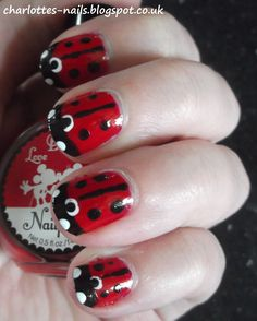 April Showers Bring May Flowers Challenge - Ladybirds