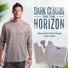 Shop Men's Knits here ! http://www.islandcompany.com/catalog/mens-resort-wear/linen-knit-sweaters/?utm_content=&utm_source=VerticalResponse&utm_medium=Email&utm_term=&utm_campaign=Today%E2%80%99s%20forecast...