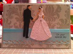 Wedding Card Ideas From Cricut | More Than Favors: Cricut Cardz Challenge #38