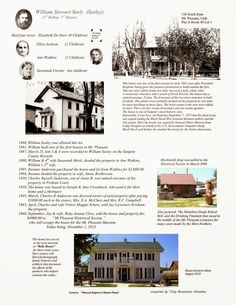 William Stewart Seeley Home~Mt. Pleasant Pioneer Relic Home and Blacksmith Shop