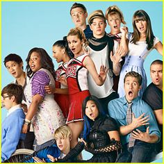GLEE. :D I also like the TV show too.