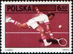 Of Polish Tennis Federation (Polonia) Mi:PL 2613 Club, Basketball Court, Family Guy, Guys, Sports, Postage Stamps, Polish, Poland, Stamps