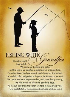 Fishing funeral poem for father   gone fishing funeral ...