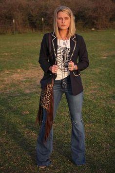 The Saginaw Denim Flares – Buckin Wild Designs and Boutique Business Fashion Professional, Professional Attire, Business Casual Outfits, Business Attire, Business Women, Blazer Fashion, Fashion Outfits, Woman Outfits, Fashion Ideas