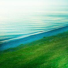 where green meets blue