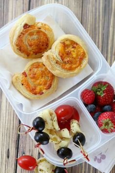 Pastry Puff Pinwheels | Bento Box Lunches | http://gooddinnermom.com
