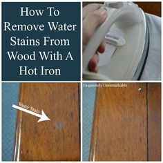 Good How To Remove Water Stains From Wood