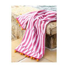 John Robshaw Nicatta Pink Beach Towel ($80) ❤ liked on Polyvore featuring home, bed & bath, bath, beach towels, pink pattern, pattern beach towel, john robshaw, cotton beach towels, pink flamingo beach towel and pink beach towel