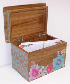 Pioneer Women, Pioneer Woman Recipes, Recipe Cards, Recipe Box, Pioneer Woman Kitchen, Old Recipes, Acacia Wood, Decorative Boxes, House Design