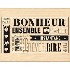 Bonheur instantané Florilèges Design