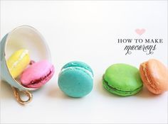 French macaroon - even in my favorite color - Tiffany blue :)