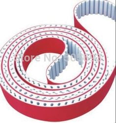94.50$  Buy here - http://alibxn.worldwells.pw/go.php?t=2036642847 - H typ PU connection round belt cover red rubber