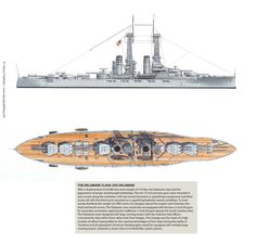 USS Delaware - Delaware class Battleship