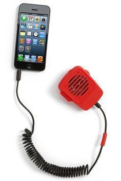 iPhone Walkie-talkie Handset http://stuffyoushouldhave.com/iphone-walkie-talkie-handset/