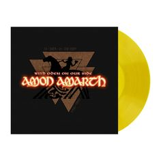 """Amon+Amarth+""""With+Oden+on+Our+Side+-+Yellow+LP""""+12""""+at+https://www.indiemerchstore.com/"""