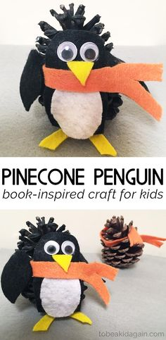 This week did a super cutepenguinpinecone craft. My toddler found some pinecones recently and we've been wanting to make something with them. After we readPenguin and Pinecone by Salina Yoon, I knew wejust had to make a penguin! This week's activity is a part of the Virtual Book Club for Kids. Be sure to check...