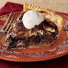 chocolate pecan pie. Oh my'