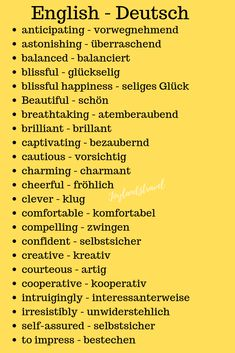 deutsche Sprache - Bildungsniveau deutsche Sprache The Effective Pictures We Offer You About Education Level quiz A quality picture can tell you many things. You can find the mo German Grammar, German Words, English Words, German Language Learning, Learn A New Language, English Language, Vocabulary List, English Vocabulary, German English