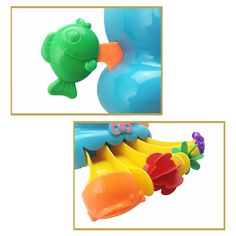 Christmas promotional gift plastic bath toy waterwheel animal octopus water slide - china Bath Toys manufacturer - Shantou Bana Import & Export Co., Ltd