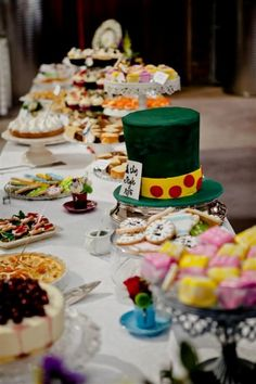 Mad+Hatter+Tea+Party+Ideas | Mad Hatter tea party ideas include many considerations such as the ...