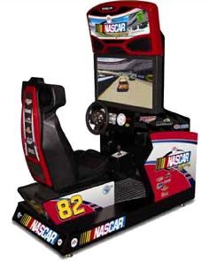 NASCAR Racing Arcade Driving Game is a is a Refurbished arcade game that would look great in any game room, rec room business or bar. Cool Basement Ideas, Game Room Basement, Arcade Game Room, Arcade Games, Nascar Simulator, Rush Games, Cheap Dining Room Chairs, Restoration Hardware Dining Chairs, Nascar Racing