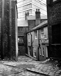 Bulls Head Rear Door Oldham 1960s