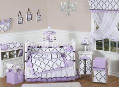 JoJo designs princess black white and purple