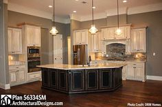 Plan 56334SM: French Country Home Plan with Extras
