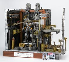 GUNDAM GUY: GBWC (Gunpla Builders World Cup) Taiwan 2012: 'Look! This Is Your Daddy's Work' Diorama Build - Wallpaper Size Images