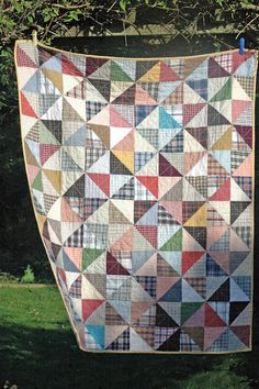 HST quilt of Men's Shirts