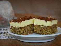 Cookie Recipes, Keto Recipes, Dessert Recipes, Hungarian Desserts, Poppy Cake, Sweet Desserts, Winter Food, Cakes And More, Bakery