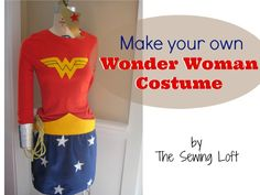 Learn how to make your own Wonder Woman Costume for under $15 in just a few simple steps. Costume is perfect for any age.