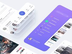 Atro UI Kit accelerates the design process and helps you swiftly create fresh and complex designs. The UI Kit includes carefully crafted mobile designs, two icon libraries both filled and lined, and 12 illustrations in two styles to match light and d… Web Design, App Ui Design, Interface Design, User Interface, Dashboard Design, Design Trends, Design Ideas, Mobile Mockup, Mobile App Ui